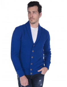 Cardigan Sir Raymond Tailor trenzado - royal