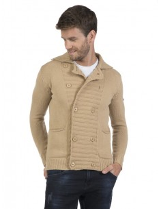 Cardigan Sir Raymond Tailor doble botón - beige