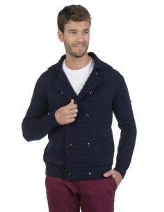 Cardigan Sir Raymond Tailor doble botón - Navy