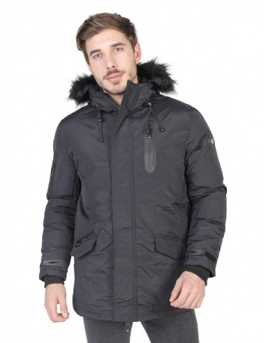 Parka Geographical Norway - Adn black