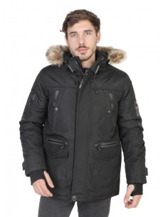 Parka Geographical Norway - Bank black