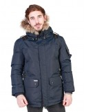Parka Geographical Norway Ametyste - navy