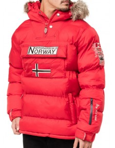 Canguro Geographical Norway Booker - red NEW