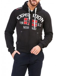 Sudadera Geographical Norway - Foccupe black