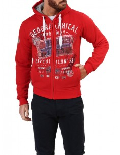 Sudadera Geographical Norway - Filliam red