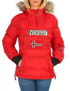 Parka canguro Geographical Norway - Anson red