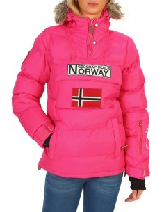 Parka canguro Geographical Norway - Anson pink