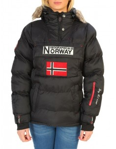 Parka canguro Geographical Norway - Anson black