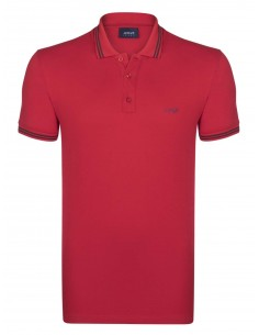 Polo Armani Jeans heritage red