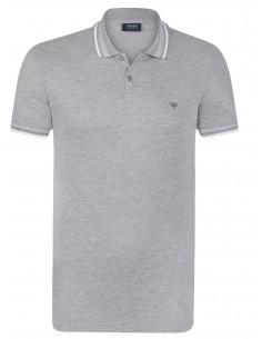 Polo Armani Jeans heritage grey melange