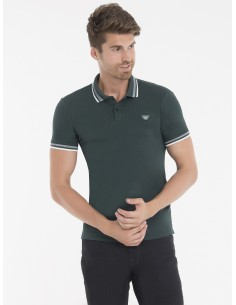 Polo Armani Jeans heritage forest green