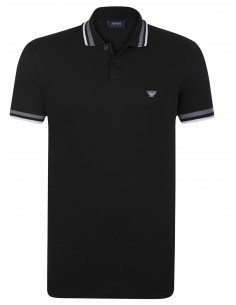 Polo Armani Jeans heritage forest black