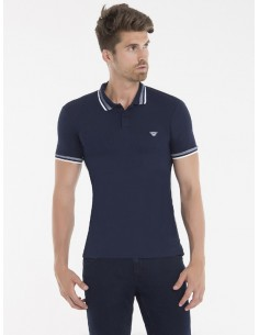 Polo Armani Jeans heritage forest navy