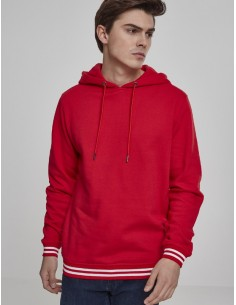 Urban Classics - Sudadera college red