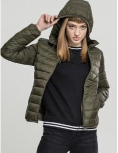 Urban Classics chaqueta acolchada - granate