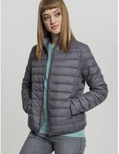 Urban Classics chaqueta plumas ligera - gris