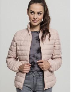 Urban Classics chaqueta plumas ligera - pink