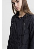 Urban Classics - Ladies Asymetric Parka black