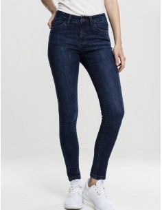 Urban Classics jeans ripped - azul