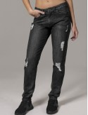 Urban Classics jeans lady boyfriend - black