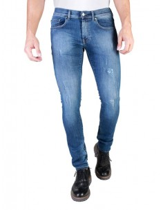 Vaqueros Carrera  skinny fit - washed blue