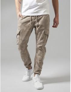 Urban classics pantalón cargo premium - camuflaje sand