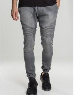 Urban classics pantalón jogger biker - grey