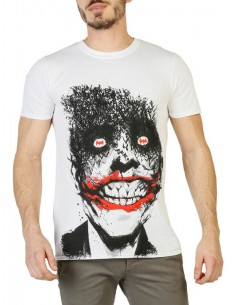 Camiseta DC Comics - Joker white