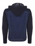 Sir Raymond Tailor chaqueta denim combinada - blue