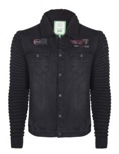 Sir Raymond Tailor chaqueta cuello sherpa - black