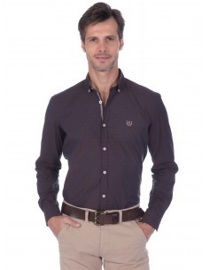 Camisa Sir Raymond Tailor - dark brown