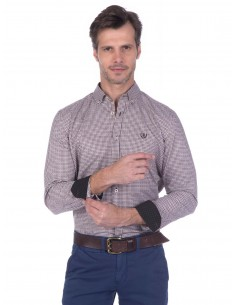 Camisa Sir Raymond Tailor - light brown