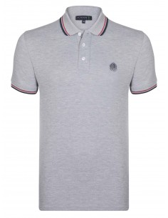 Polo Sir Raymond Tailor logo silver - grey