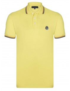 Polo Sir Raymond Tailor logo silver - yellow