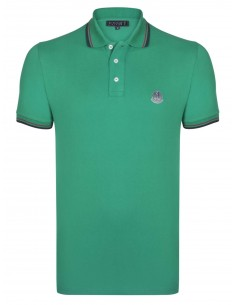 Polo Sir Raymond Tailor logo silver - green