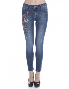 Jeans Sir Raymond Tailor woman - floral blue