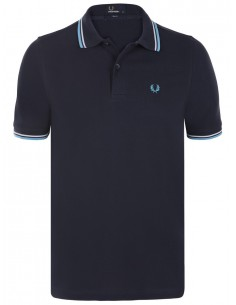 Polo básico hombre Fred Perry slim fit - 	Navy/Blue