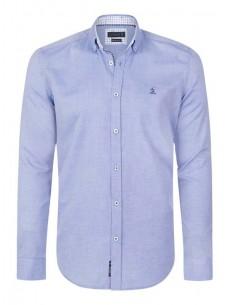 Camisa Sir Raymond Tailor oxford - azul