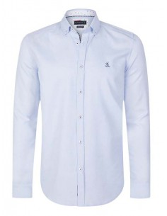 Camisa Sir Raymond Tailor oxford - light blue