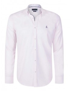 Camisa Sir Raymond Tailor oxford - light pink