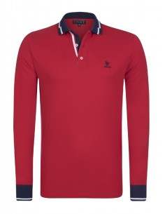 Polo Sir Raymond Tailor manga larga - Red