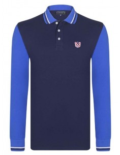 Polo Sir Raymond Tailor color block - navy/royal