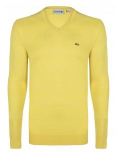 Jersey Lacoste en algodón - yellow spring