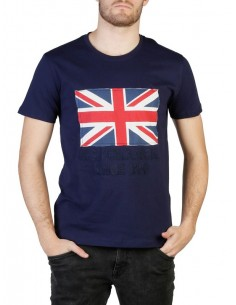 Camiseta US Polo Assn Uk flag - navy