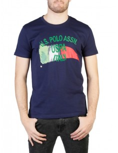 Camiseta US Polo Assn Italy - navy