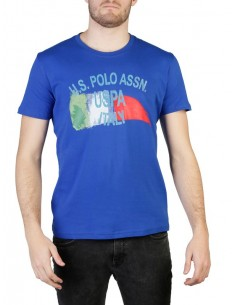 Camiseta US Polo Assn Italy - royal