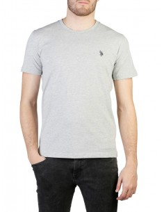Camiseta US Polo Assn icónica - grey melange