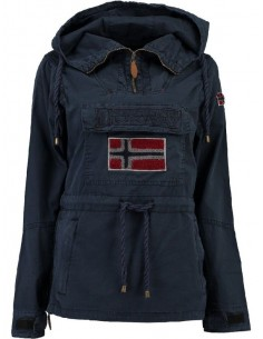 Parka canguro Geographical Norway - canon Navy