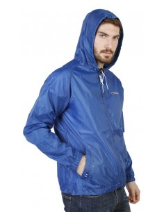 Chaqueta Geographical Norway impermeable - Boat azul eléctrico
