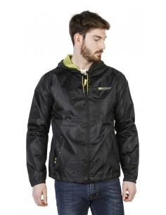 Chaqueta Geographical Norway impermeable - Boat negra